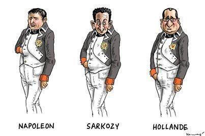 Napoléon, Sarkosy, Hollande, la décadence.