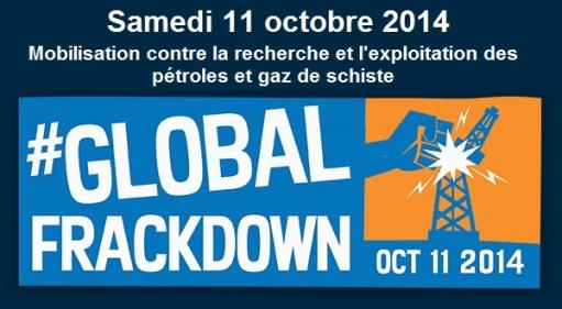 11 Octobre 2014 - Dites non au gaz de schiste !