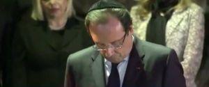 Hollande's kippa